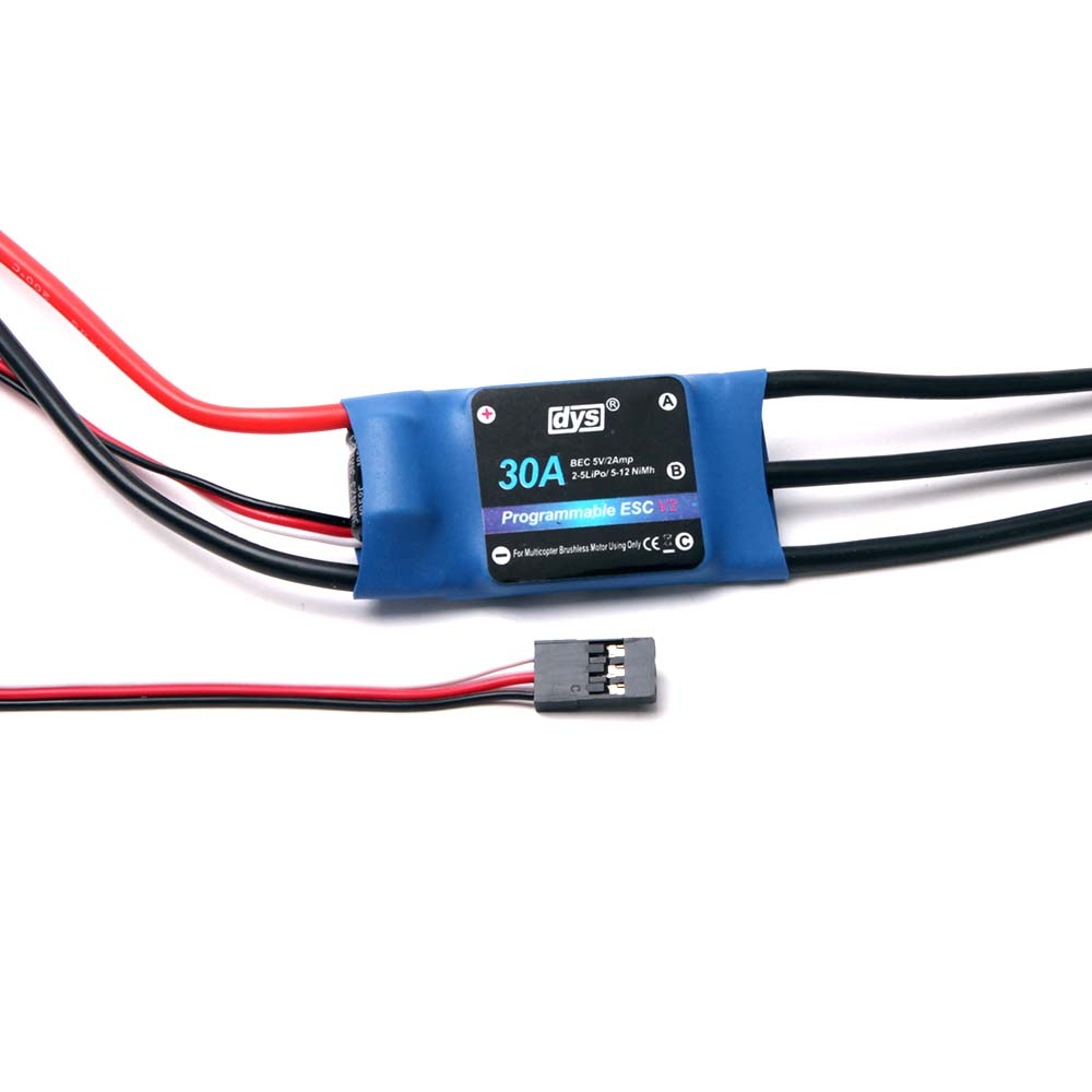 Dys 30a Brushless Dc Motor Electronic Speed Controller