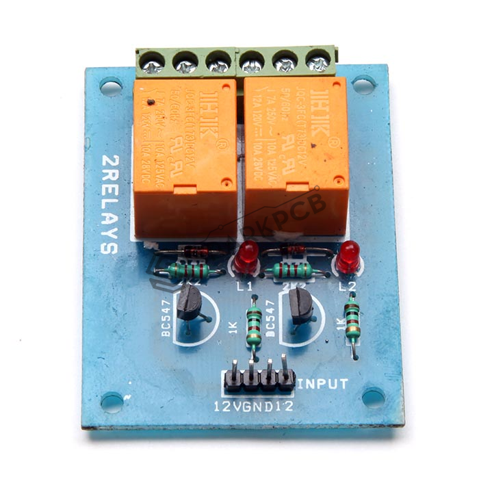 2 Channel 12v Realy Board Buy Online India Price