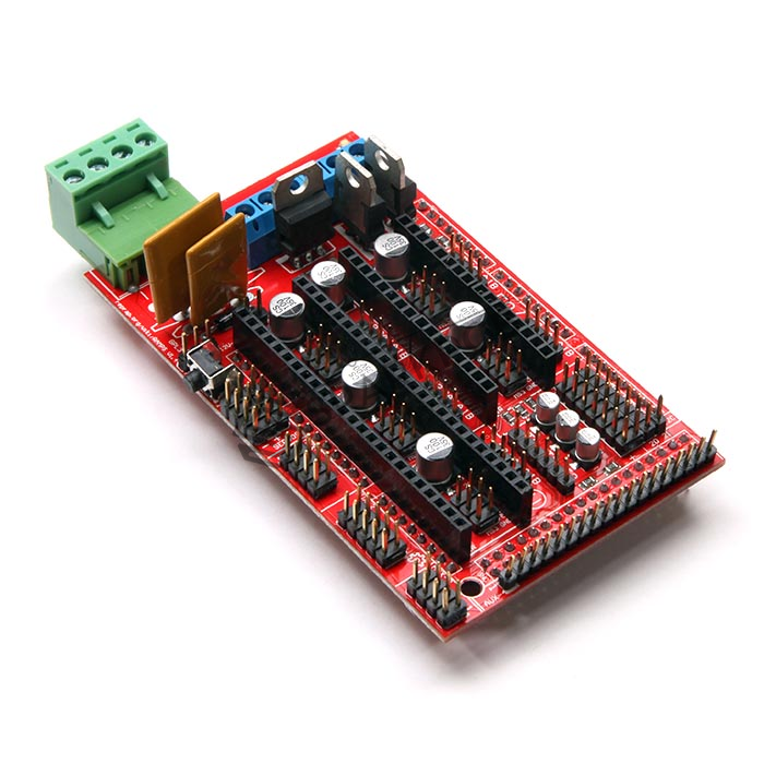 5 Axis CNC 3D Printer Controller RAMPS 1 4 Board for Arduino