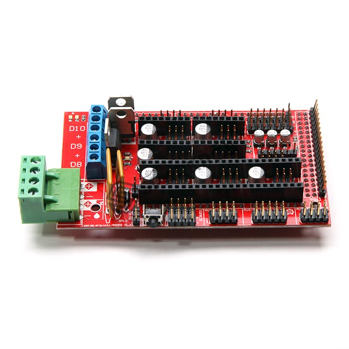 5 Axis Cnc 3d Printer Controller Ramps 1 4 Board For
