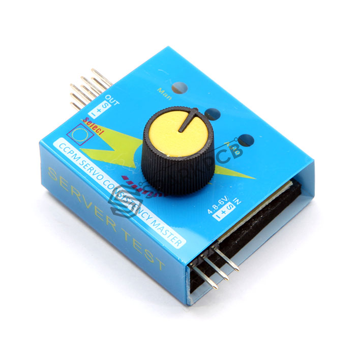 Buy 3 Channel Servo Motor And Esc Tester Buy Online India