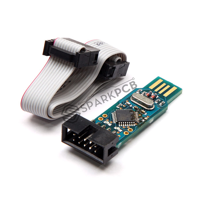 Buy Avr Usbasp Isp Programmer With 10 Pin Cable Buy Online