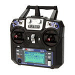 FlySky FS-i6 2.4Ghz 6ch Transmitter And Receiver with LCD Screen For Quadcopter