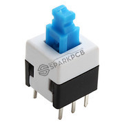 6 Pin Push Button On/Off Switch