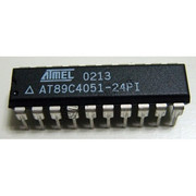 AT89C4051 20-Pin Dip 4K Byte 8-Bit Microcontroller