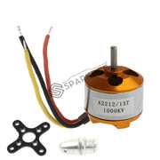 Brushless DC Motor 1400 kV for Quadcopters or Multirotors