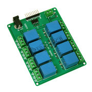 8 Channel 12V Relay Module Board