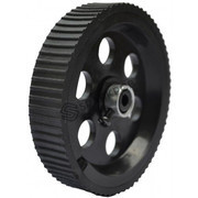 Robot Wheel 9x2 cm Black Base