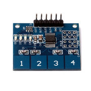 TTP224 4 Way Capacitive Touch Sensor Module