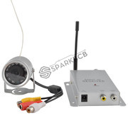 Wireless Audio Video Surveillance Camera Kit