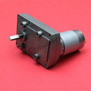 100RPM 12V DC Square Gear Box Motor