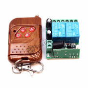 12V DC 2Ch Wireless Remote Control Switch Board