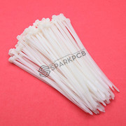 150mm Self Locking Nylon Cable Tie Wraps 100Pcs