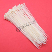 200mm Self Locking Nylon Cable Tie Wraps 100Pcs
