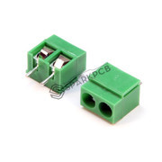 2 Pin Screw Terminal Green Connector