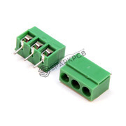 3 Pin Screw Terminal Green Connector