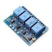 4 Channel 5V Relay Board with Optocoupler for Arduino Raspberry Pi