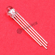 5mm 4-Pin Tri-colour Common Anode LED Light