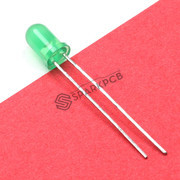 5mm Diffused Green LED LightLED