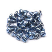 4x6.5 mm Pan Head Self Tapping Screw Screw 25Pcs