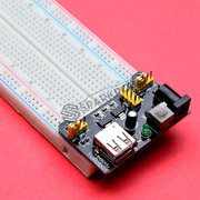 MB102 830 Tie Points Breadboard with 3.3V/5V Power Supply for Arduino