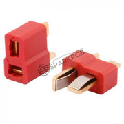 T Male Female Dean Connector Pair for RC Lipo Battery