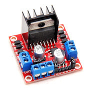 L298 Dual H Bridge DC Motor or Stepper Motor Drive Red Board