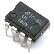 LM 386 Audio Amplifier IC