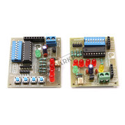 RF433 with HT12E, HT12D without RF Module Board