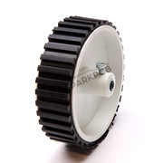 Robot Wheel 7X2 cm White Base