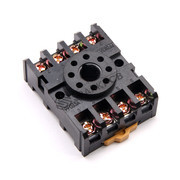 8 Pin Round Dip Relay Base Socket