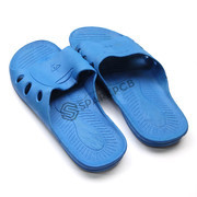Blue ESD Anti Static Slippers for Electrostatic Discharge