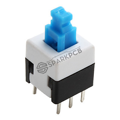 6 Pin Push Button Non Latch Switch