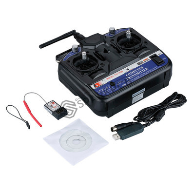Flysky FS-CT6B 2.4ghz 6ch Transmitter and Receiver