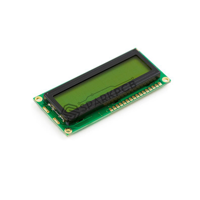 16x2 Line Green Character LCD