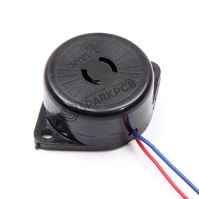 30 mm Wire Type 3-24V Piezo Electric Buzzer