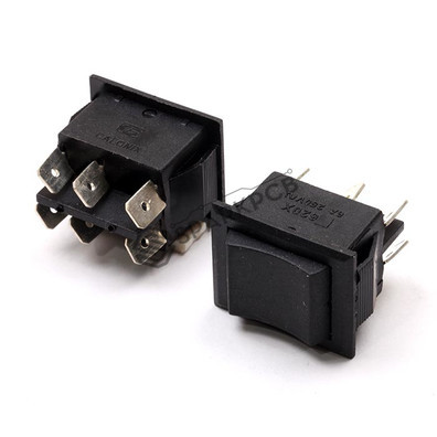 6 Pin DPDT Robot Momentory Switch