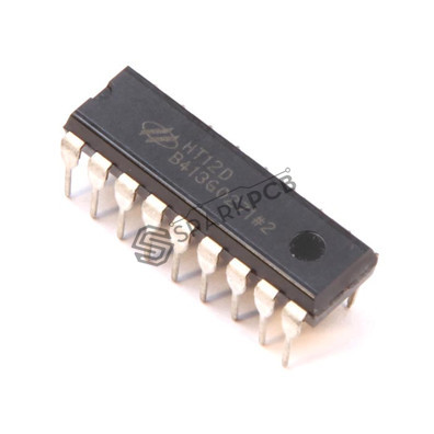 HT12D ASK Encoder IC for RF Remote Control