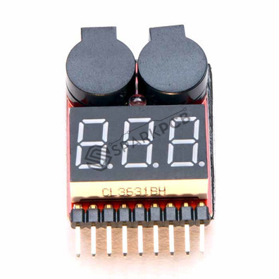 Lipo Battery Tester and Low Voltage Alarm