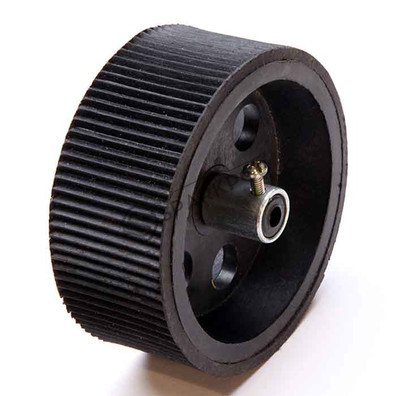 Robot Wheel 9x4 cm Black Base