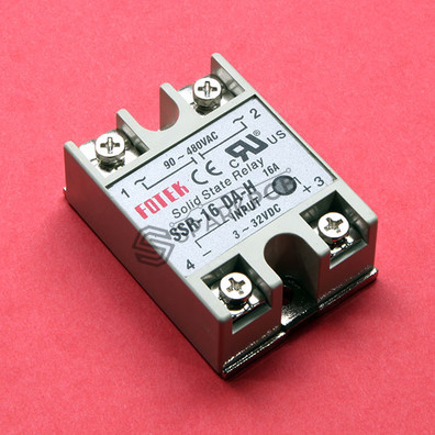 SSR Solid State Relay 90-480V AC 16A
