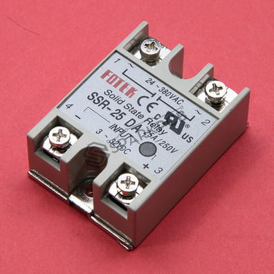 SSR Solid State Relay 90-480V AC 25A