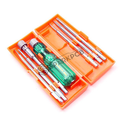 Taparia 840 Screw Driver Set with AC Tester