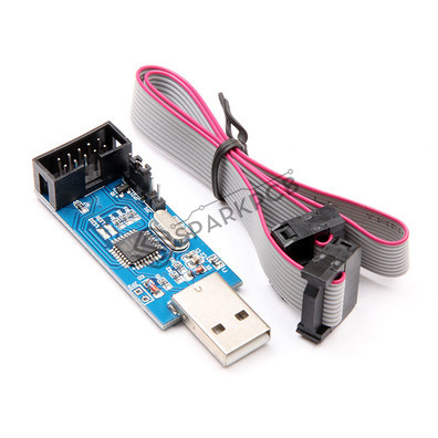 AVR USBASP ISP Programmer with 10 Pin Cable