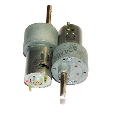 30 RPM 12V DC Side Shaft Johnson Geared Motor