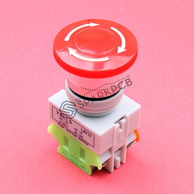 Vells 22mm Emergency Stop Push Button Switch