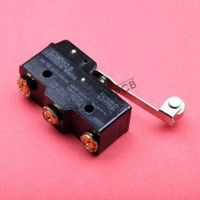 Z-15GW2-B Long Lever Roller Micro Switch